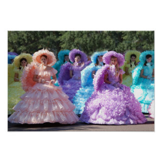 """19""""x13"""" poster-Southern Belles Poster"""