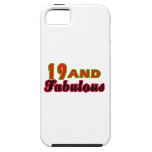 19 y diseños fabulosos del cumpleaños iPhone 5 Case-Mate carcasa