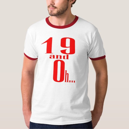 19 y oh camiseta del alt (trasera) remeras