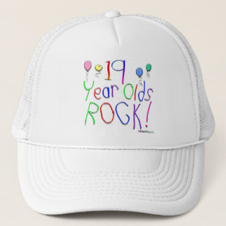 19 Year Olds Rock ! Trucker Hat