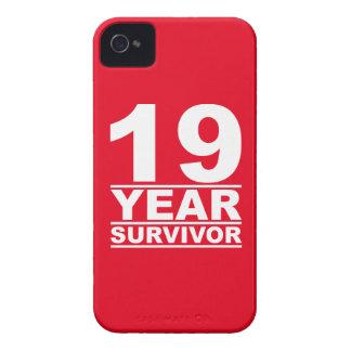 19 year survivor iPhone 4 case