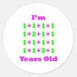 19 Years Old Magenta Gr Sticker