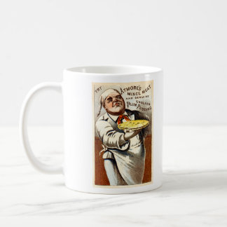 19C Atmores Mincemeat Pie + Plum Pudding Coffee Mug