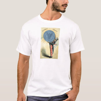 19C Uncle Sam Likes Silver T-Shirt