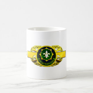 19D 2nd Armored Calvary Regiment Classic White Coffee Mug