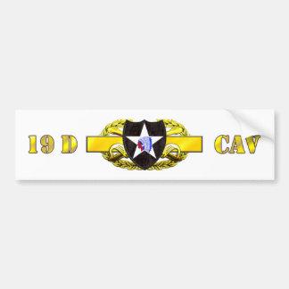 19D 2nd Infantry Division Bumper Sticker