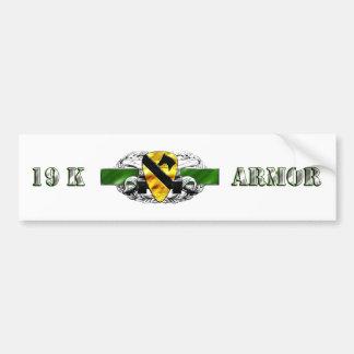 19K 1st Cavalry Division Car Bumper Sticker