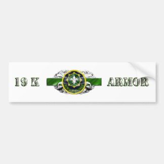19K 2nd Armored Calvary Regiment Bumper Sticker
