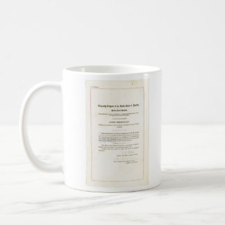 19th Amendment to the United States Constitution Coffee Mug
