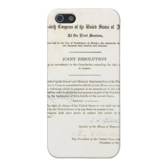 19th Amendment to the United States Constitution iPhone 5/5S Case