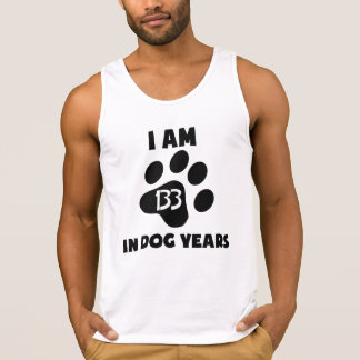 19th Birthday Dog Years Tank Top