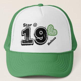 19th Birthday I'm a Star Custom Name V11A Trucker Hat