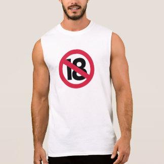 19th birthday sleeveless shirt