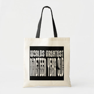 19th Birthdays Worlds Greatest Nineteen Year Old Tote Bags