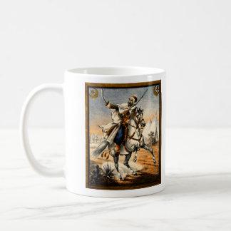 19th C. Arabian Warrior Classic White Coffee Mug