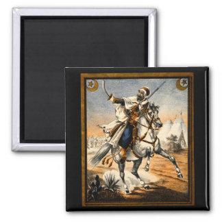 19th C. Arabian Warrior Fridge Magnet