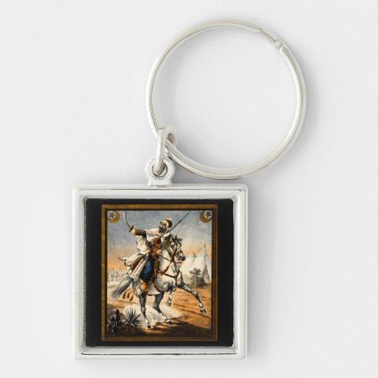 19th C. Arabian Warrior Keychain