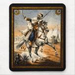 19th C. Arabian Warrior Mouse Pad