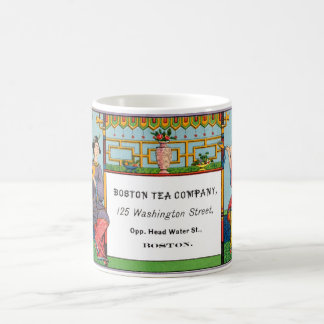 19th C Boston Tea Company Coffee Mug