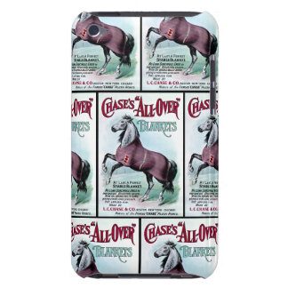 19th C. Chase Horse Blankets Barely There iPod Cases