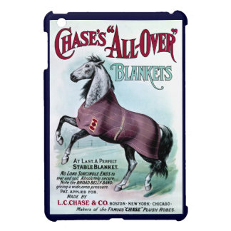 19th C. Chase Horse Blankets Case For The iPad Mini
