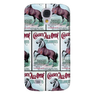 19th C. Chase Horse Blankets Galaxy S4 Cases