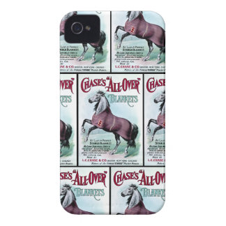 19th C. Chase Horse Blankets iPhone 4 Case