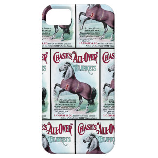 19th C. Chase Horse Blankets iPhone 5 Case