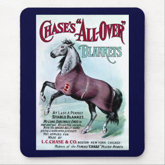 19th C. Chase Horse Blankets Mouse Pad