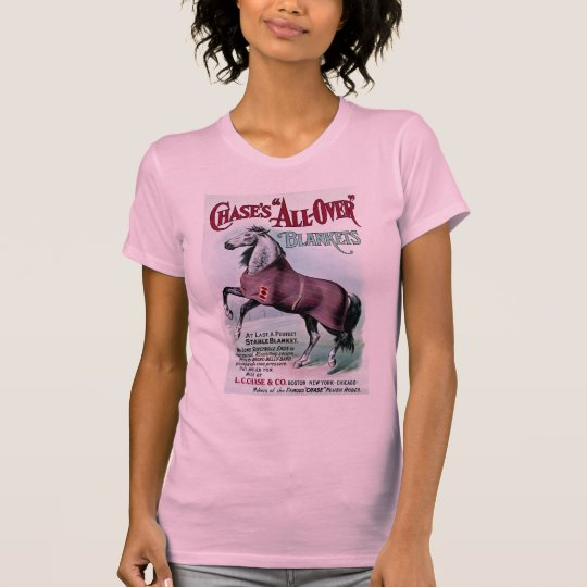 19th C. Chase Horse Blankets T-Shirt