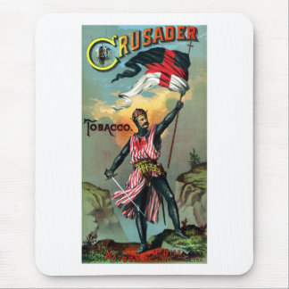 19th C. Crusader Tobacco Poster Mouse Pad