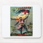 19th C. Crusader Tobacco Poster Mouse Pads