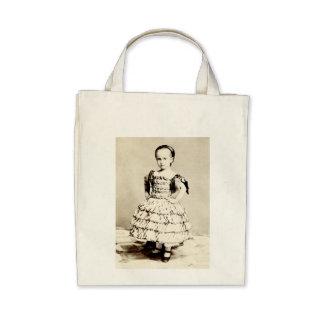19th C Defiant Little Girl Bags