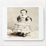 19th C. Defiant Little Girl Mouse Pad