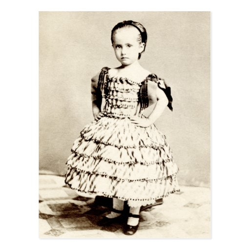 19th C. Defiant Little Girl Post Cards