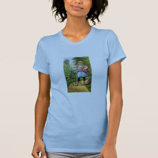 19th C. Girl and her Tricycle T-Shirt