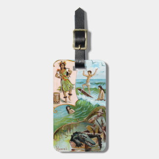 19th C. Hawaii Tag For Luggage