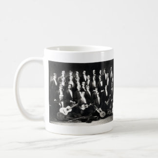 19th C Mens Musical Group Classic White Coffee Mug