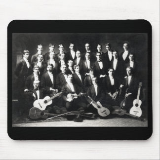 19th C Mens Musical Group Mouse Pad