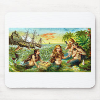19th C. Mermaids Mouse Pad