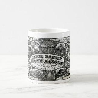 19th C New York Saloon Bank Note Classic White Coffee Mug