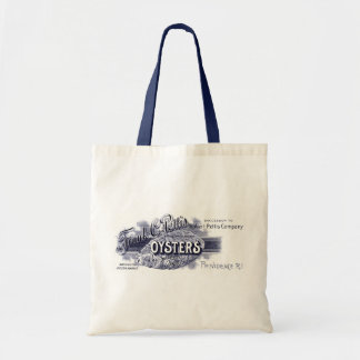 19th C. Oysters, blue Tote Bag