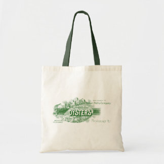 19th C. Oysters, green Tote Bag