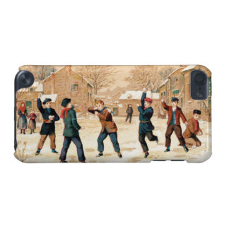 19th C. Snowball Fight iPod Touch 5G Cover