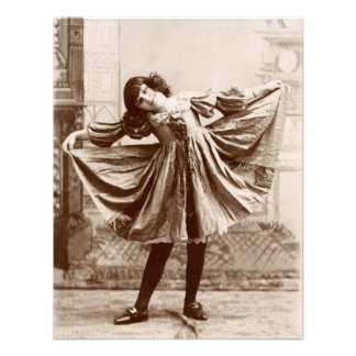 19th C. The Curtsy Announcements