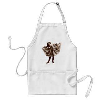 19th C. The Curtsy Aprons