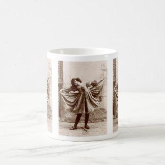19th C. The Curtsy Coffee Mug
