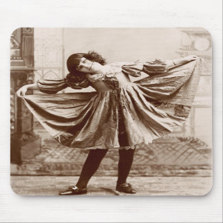 19th C. The Curtsy Mouse Pad