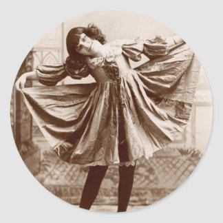 19th C. The Curtsy Stickers