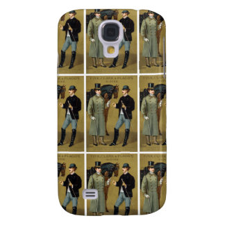 19th C. Vintage Men's Gloves Galaxy S4 Covers